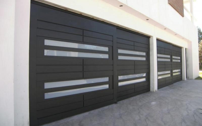 Fotos de portones portones electricos for Puertas de garaje modernas